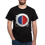 Cars Round Logo Blank Dark T-Shirt