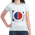 Cars Round Logo Blank Jr. Ringer T-Shirt