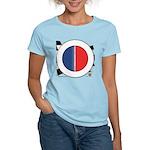 Cars Round Logo Blank Women's Light T-Shirt