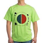 Cars Round Logo Blank Green T-Shirt