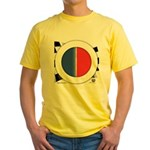 Cars Round Logo Blank Yellow T-Shirt