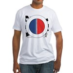 Cars Round Logo Blank Fitted T-Shirt