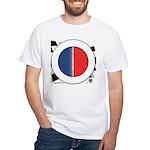 Cars Round Logo Blank White T-Shirt