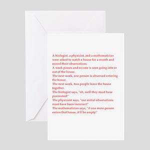 Physics jokes greeting cards cafepress funny genius jokes greeting card m4hsunfo