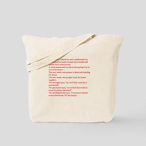 funny genius jokes Tote Bag