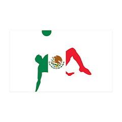 Mexico Soccer 38.5 x 24.5 Wall Peel