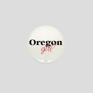 Oregon girl (2) Mini Button