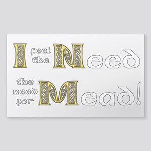 Mead Sticker (Rectangle)