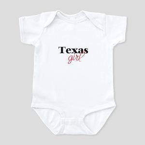 Texas girl (2) Infant Creeper