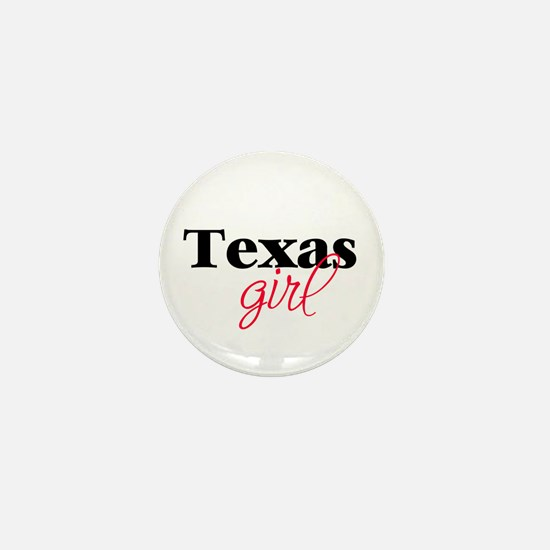 Texas girl (2) Mini Button