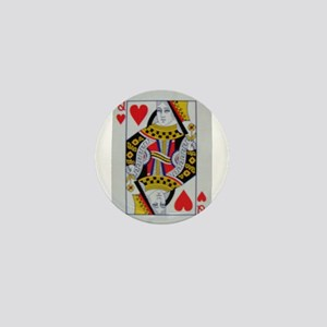 QUEEN OF HEARTS Mini Button