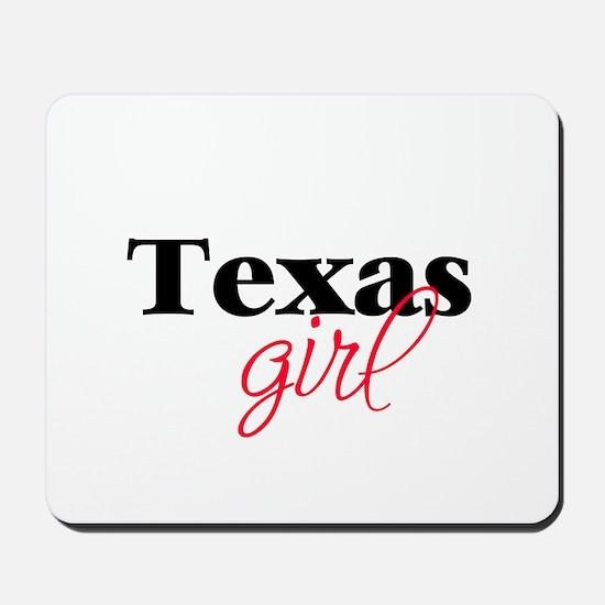 Texas girl (2) Mousepad