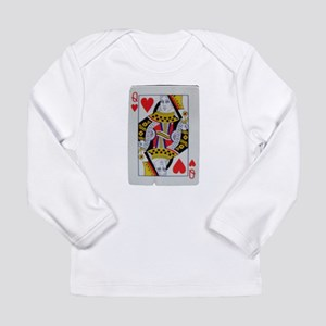 QUEEN OF HEARTS Long Sleeve Infant T-Shirt