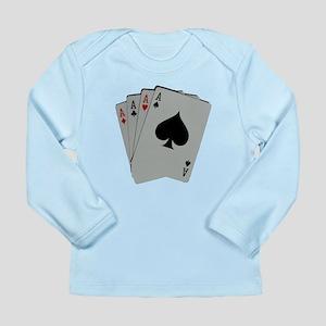 FOUR ACES™ Long Sleeve Infant T-Shirt