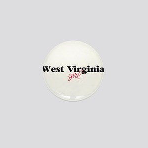 West Virginia girl (2) Mini Button