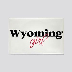 Wyoming girl (2) Rectangle Magnet