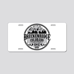Breckenridge Old Circle Aluminum License Plate
