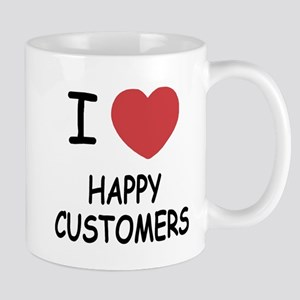 I heart happy customers Mug