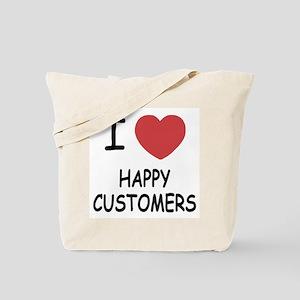 I heart happy customers Tote Bag