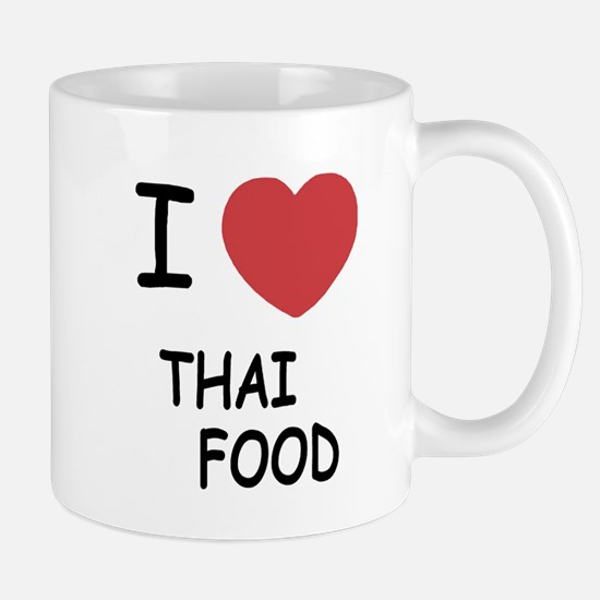 I heart thai food Mug