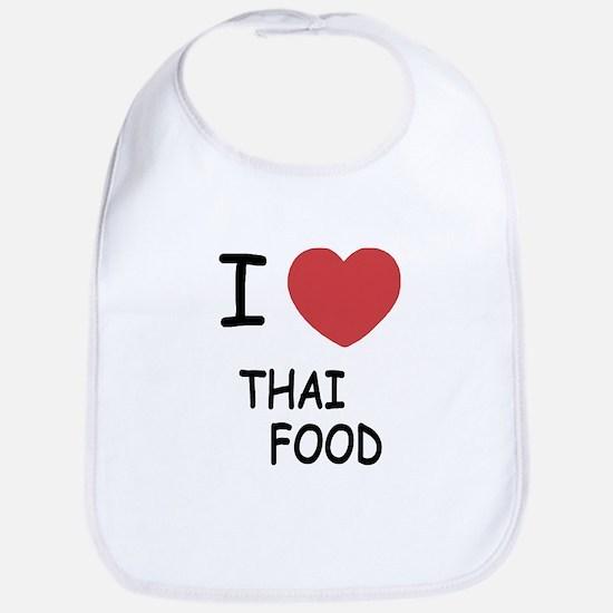 I heart thai food Bib