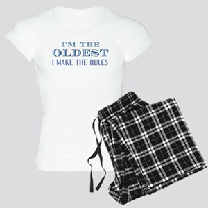 I'm The Oldest Women's Light Pajamas