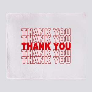 Thank You Throw Blanket