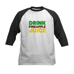 Drink Pineapple Juice Kids Baseball Jersey