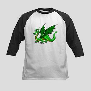Green Dragon Kids Baseball Jersey