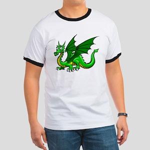 Green Dragon Ringer T