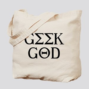 Geek God Tote Bag