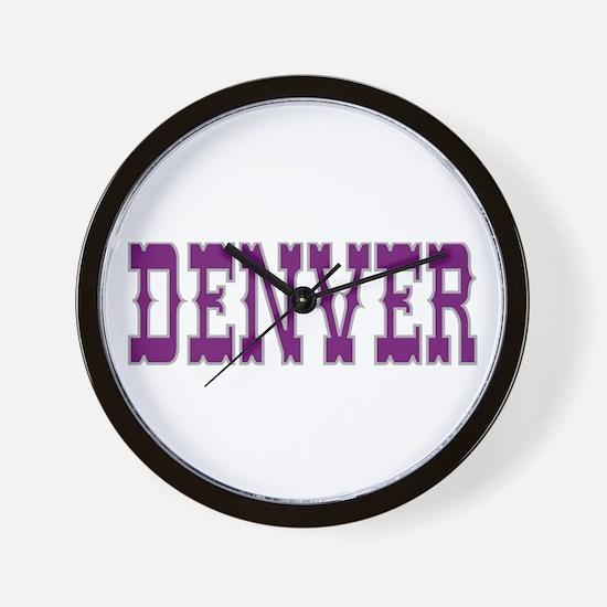 DENVER Wall Clock