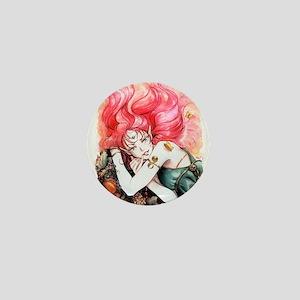 Red Fairy Mini Button