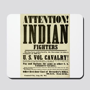 Indian Fighters Mousepad