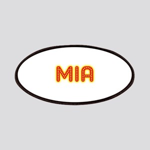 Mia in Movie Lights Patches