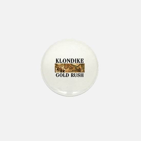 ABH Klondike Gold Rush Mini Button