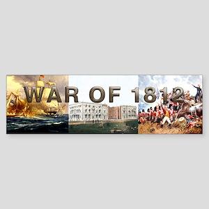 War of 1812 Sticker (Bumper)