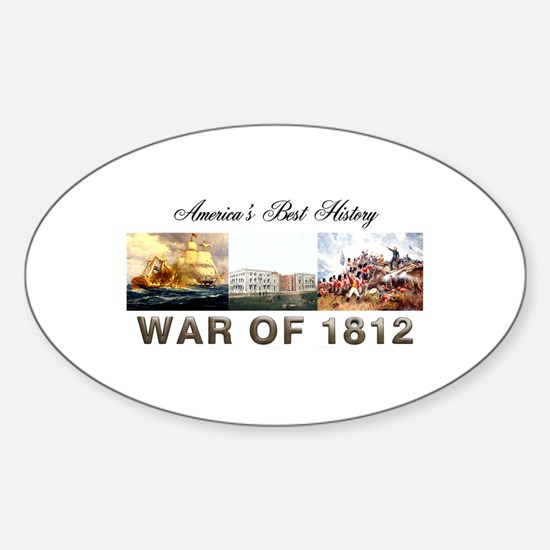 War of 1812 Sticker (Oval)