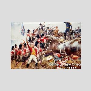War of 1812 Rectangle Magnet
