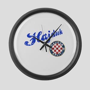 Hajduk Large Wall Clock