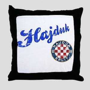 Hajduk Throw Pillow