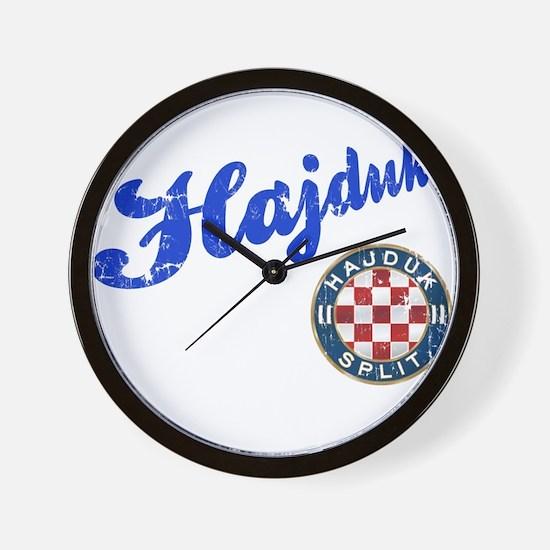 Hajduk Wall Clock