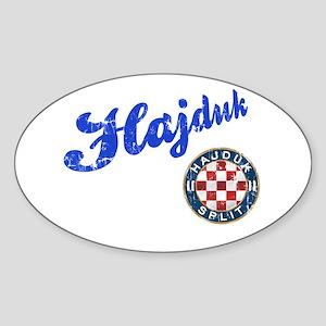 Hajduk Sticker (Oval)