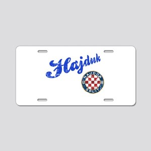 Hajduk Aluminum License Plate