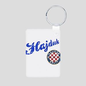 Hajduk Aluminum Photo Keychain