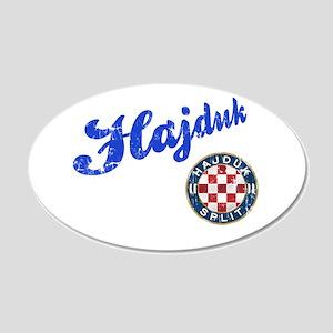 Hajduk 22x14 Oval Wall Peel