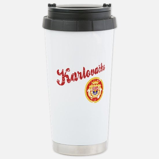 Karlovacko Stainless Steel Travel Mug