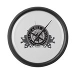 Maccabee & Sons Large Wall Clock