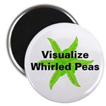 """Whirled Peas 2.25"""" Magnet (100 pack)"""
