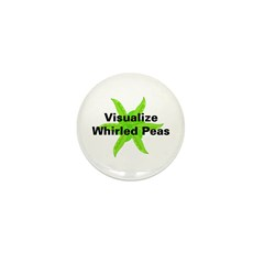 Whirled Peas Mini Button (10 pack)